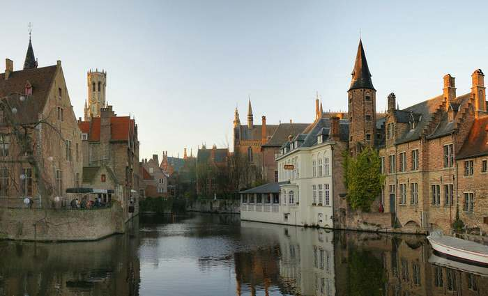 The fairy tale town of Bruges