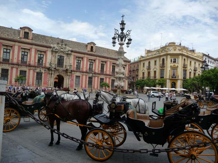 Take a carriage ride in Sevilla