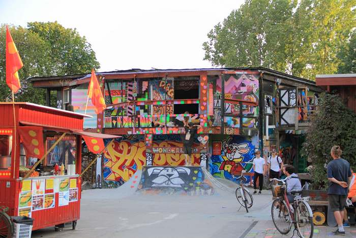 You won't forget a visit to Christiania in Copenhagen