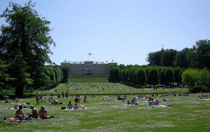 Frederiksberg Garden in Copenhagen
