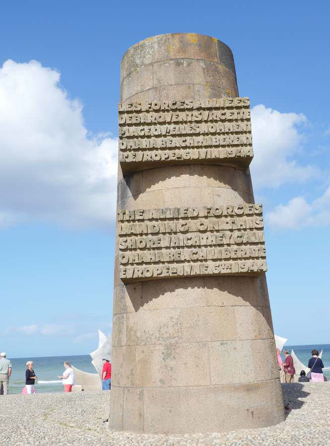 Omaha Liberation Monument in Normandy