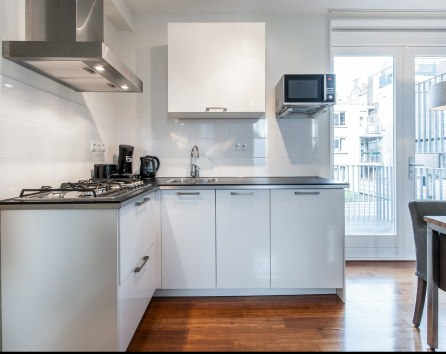 A small short-stay rental in Amsterdam
