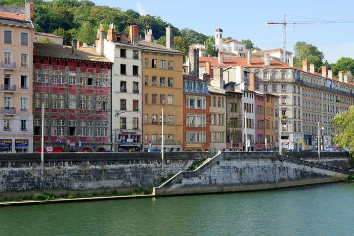 Lyon riverfront