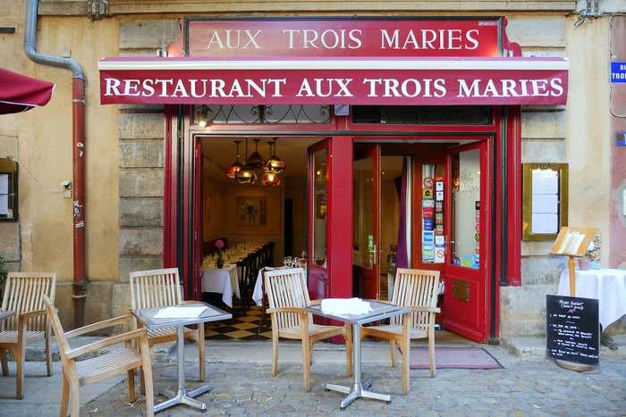 Restaurant in Vieux Lyon