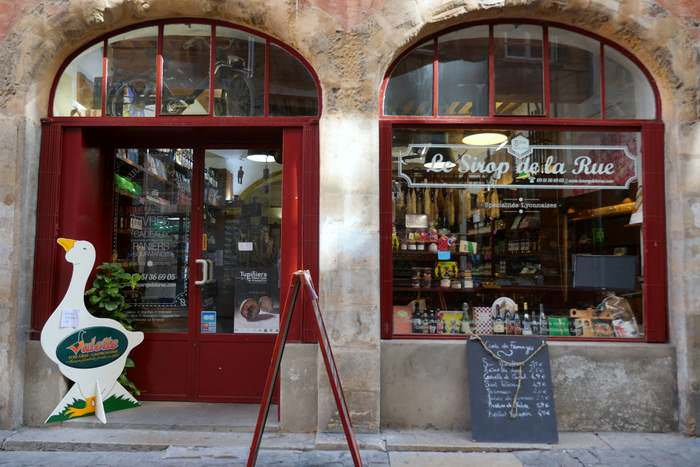 Lyonnaise specialty store in Vieux Lyon