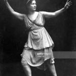 Isadora Duncan – Dancing in the Temple of the Arts in Athens