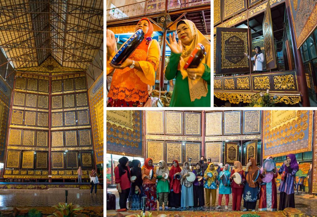 AL-QUR'AN AL-AKBAR Mosque in South Sumatra - Arab Culture in Indonesia